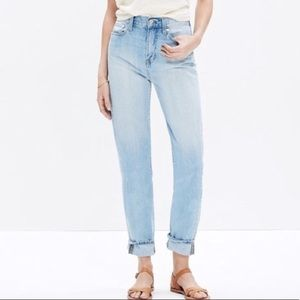 NWT Madewell Perfect Summer jeans 28